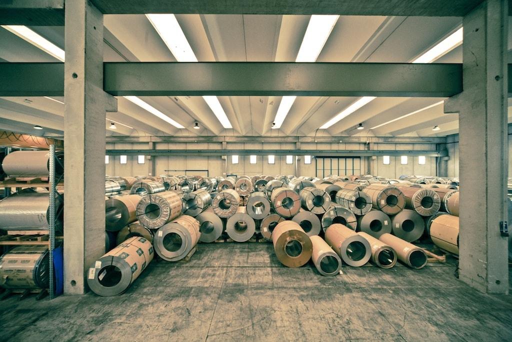 Logistik Inox-Pa Lagerbänder