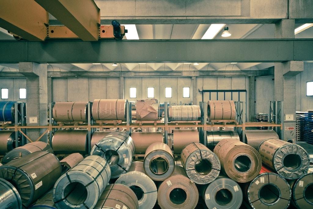 Logistica Inox-Pa acciaio