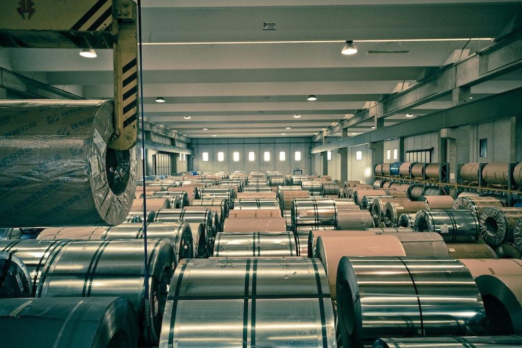 Logistik Brescia Stahl Inox-Pa
