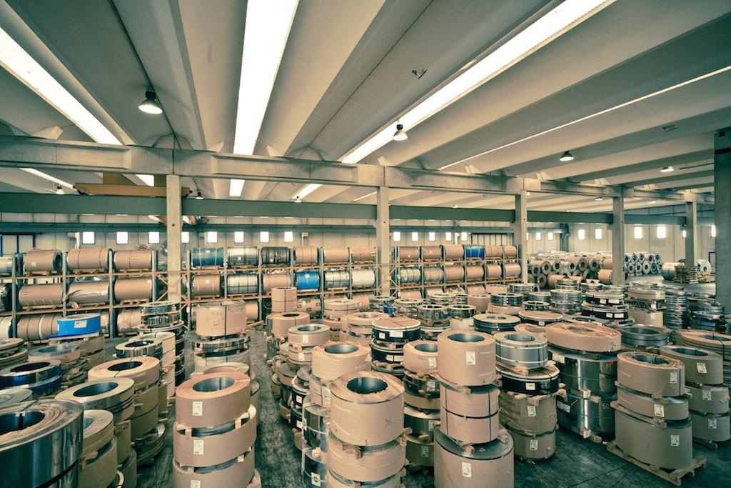 Logistica magazzino Inox-Pa